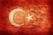 Turkey flag — Stock Photo