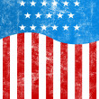 USA style background — Stock Photo
