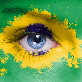 Brazil flag — Stock Photo