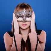 Carnival girl — Stockfoto