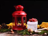 Lanterna di natale — Foto Stock