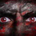 Vampire face — Stock Photo #37237021