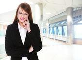 Mooie zakenvrouw — Stockfoto