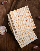 Passover bread — Stock Photo