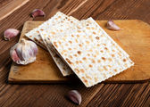 Passover bread — Stockfoto