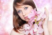 Beautiful woman — Foto de Stock