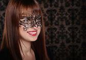 Garota do carnaval — Foto Stock