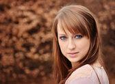 Beautiful brunette — Stock Photo