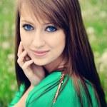 Beautiful brunette — Stock Photo #46108111