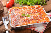 Lasagne bolognese — Stock Photo