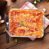 Lasagne bolognese — Stock Photo