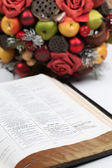 Thanksgiving scripture — 图库照片