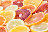 Fondo de frutas cítricas — Foto de Stock