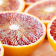 Blood orange close up — Stock Photo