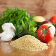 Tabbouleh ingredients — Stock Photo #33873701