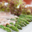 Prosciutto wrapped asparagus — Stock Photo #37095393