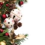 Jingle bell Christmas border — Stock Photo #7435755