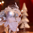 White Christmas decoration — Stock Photo #7435866