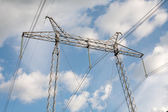 High voltage pylon — Stock Photo
