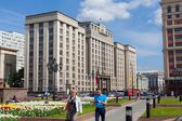 State Duma building in Moscow — Stock Photo