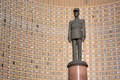 General de Gaulle monument in Moscow — Stock Photo