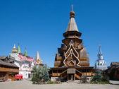 деревянный собор в московском кремле — Стоковое фото