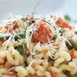 Постер, плакат: Fusilli with Salmon