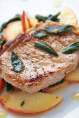 Autumn Pork Chop — Foto de Stock