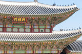 Palace roof — Stock Photo
