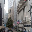 Stock Photo: Christmas in Wall Street