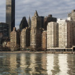 Stock Photo: Manhattand East river
