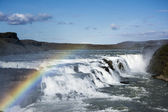 Gullfoss Waterfalls Iceland — Foto Stock