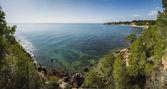 Mediterranean Panorama — Stock Photo