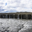 Panoramic view of Selfoss waterfall in Iceland — Stock Photo #46477681