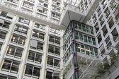 Facade of a modern office building — Стоковое фото