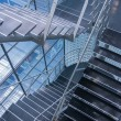 Open stairwell in modern office building — Stock Photo #18284487