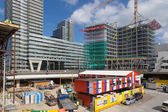 THE HAGUE - SEPTEMBER 05: Building activities at the new central — Stock Photo