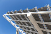 Detail of big solar panel at Barcelona, Spain — Stock Photo