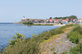 Stadtansicht von Dorf Urk, Niederlande — Stockfoto