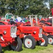 NIEUWEHORNE, THE NETHERLANDS - SEP 28: Exposition of tractors during the agricultural festival Flaeijel on September 28, 2013, the Netherlands — Stock Photo