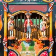 Stock Photo: Colorful barrel orgor street organ