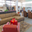 Stock Photo: Showroom of modern furniture store