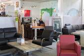 Showroom of modern luxury furniture store — Stock Photo