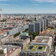 Aerial view of Berlin with Television tower or Fernsehturm — Stock Photo #38136709