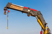 Crane with detail of a jib — Stock Photo