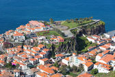 Aerial view Ilheu gardens of Camara do Lobos at Madeira, Portugal — Zdjęcie stockowe