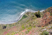 Top view from Gabo Giraol at Madeira Island, Portugal — Stock Photo
