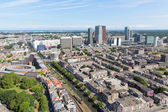 Aerial cityscape of The Hague, city of the Netherlands — Stock Photo