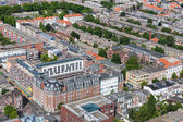 Aerial cityscape ofTthe Hague, city of the Netherlands — Stock Photo