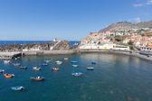 Harbor Camara de Lobos near Funchal, Madeira Island — Stock Photo